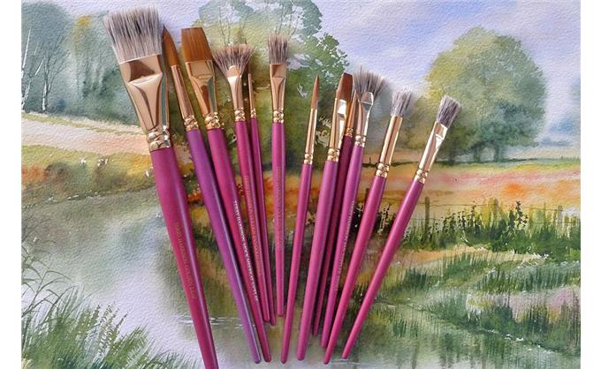 How to use the brushes