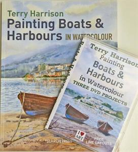 Buy Painting Boats and Harbours BOOK & DVD set Online