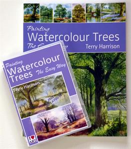 Buy Watercolour Trees 'the easy way' BOOK AND DVD SET Online