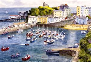Buy Tenby 21 x 29 inches Watercolour on Watercolour board Online