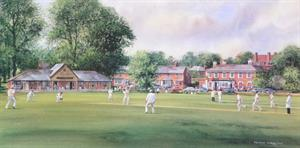 More information on The Cricketers - Print 8 x 16 inches