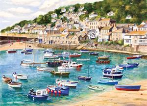 Buy Mousehole 21 x 29 inches Watercolour on Watercolour Board Online