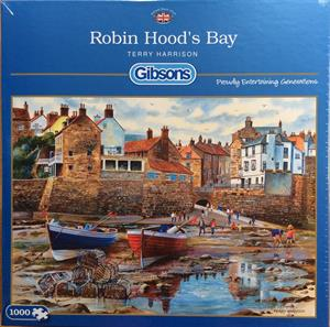 Buy ROBIN HOODS BAY 1000 PIECE JIGSAW PUZZLE Online