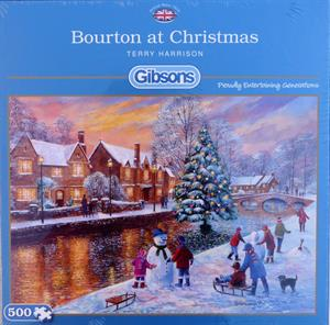 Buy BOURTON AT CHRISTMAS 500 PIECE JIGSAW PUZZLE Online