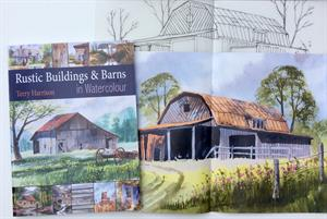 Buy RUSTIC BUILDINGS & BARNS IN WATERCOLOUR plus a free project book in English Online