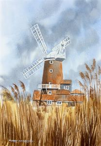 More information on Cley Windmill 12 x 17.5 inches Watercolour on watercolour paper
