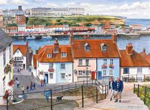 Buy The Port of Whitby 21 x 29 inches Watercolour on Watercolour Board Online