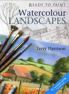 Buy Ready to paint - WATERCOLOUR LANDSCAPES in English, Italian or French Online