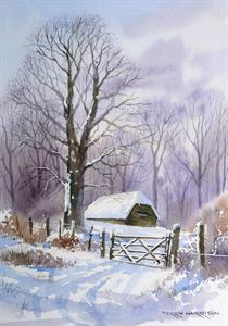 Buy Anticipating a Thaw 12 x 16 inches Watercolour on watercolour paper Online