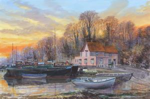 More information on Pin Mill 20 x 30 inches Acrylic canvas