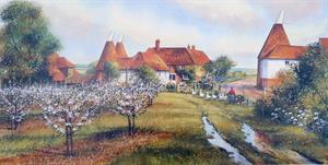 More information on Englands Garden - 8 x 16 inches