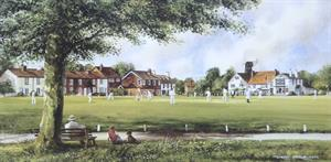 More information on Sunday Cricket - Print 8 x 16 inches