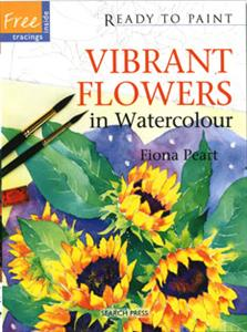 Vibrant Flowers by Fiona Peart PROJECT BOOK