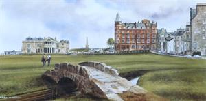 Buy Old Course St Andrews - Print 8 x 16 inches Online