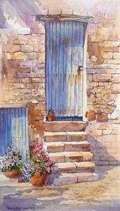 More information on Cotswold Door 9 x 16 inches watercolour