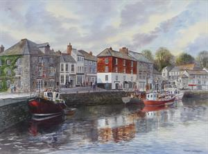More information on Padstow Harbour 20 x 27 inches Watercolour on watercolour board