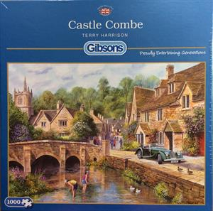 More information on CASTLE COMBE 1000 PIECE JIGSAW PUZZLE