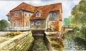More information on Bosham Mill from the Quay 10.5 x 17.5 inches Watercolour on Watercolour paper