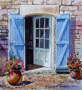 Buy An Open Door 7.5 X 8 inches Watercolour on paper Online