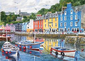 Buy Tobermory 21 x 29 inches Watercolour on Watercolour Board Online