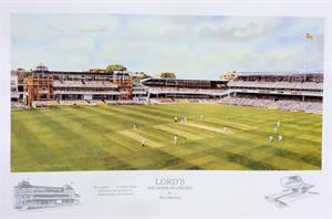 More information on LORD'S THE HOME OF CRICKET Limited Edition Print 14 x 20 inches