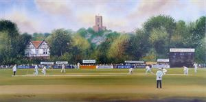More information on Guildford Cricket Club 8 x 16 inches
