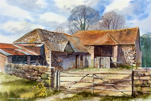 More information on Rustic Dorset 13.75 x 20.5 inches Watercolour on Paper