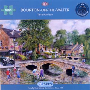 Buy BOURTON ON THE WATER 1000 PIECE JIGSAW PUZZLE Online