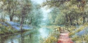 Buy Towpath Gate - Print 8 x 16 inches Online