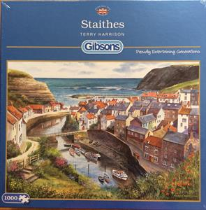 More information on STAITHES 1000 PIECE JIGSAW PUZZLE