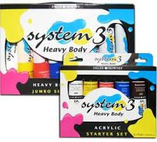 More information on Daler Rowney System3 HEAVY BODY 5 Acrylic Colours