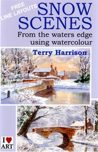 Buy DVD Snow Scenes in watercolour Online