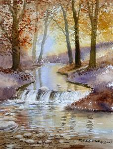 More information on Autumn Woodland 8 x 10.5 inches watercolour