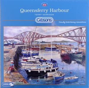 Buy QUEENSFERRY HARBOUR  1000 PIECE JIGSAW PUZZLE Online