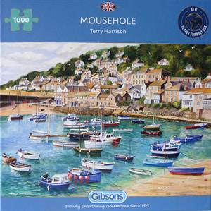 More information on MOUSEHOLE 1000 PIECE JIGSAW PUZZLE