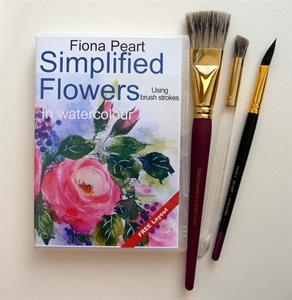 Buy Simplified Flowers DVD & 3 BRUSH SET Online