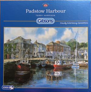 Buy PADSTOW HARBOUR 1000 PIECE JIGSAW PUZZLE Online