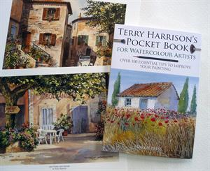 Buy TERRY HARRISON'S POCKET BOOK for Watercolour Artists includes a free print Online