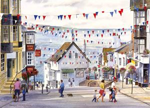 Buy Lyme Regis 1 21 x 29 inches Watercolour on watercolour board  Online