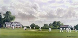More information on Wadhurst Cricket Club - SIGNED - 8 X 16 inches