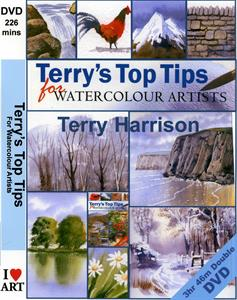 More information on Double DVD Terrys Top Tips for Watercolour Artists