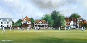 More information on The Cricket Green - Print 8 x 16 inches